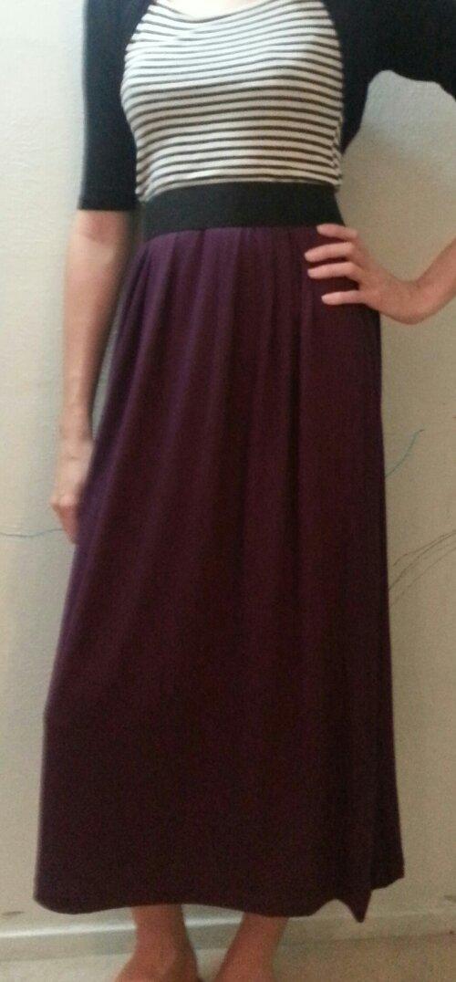 diy high waisted maxi skirt mrs dabble